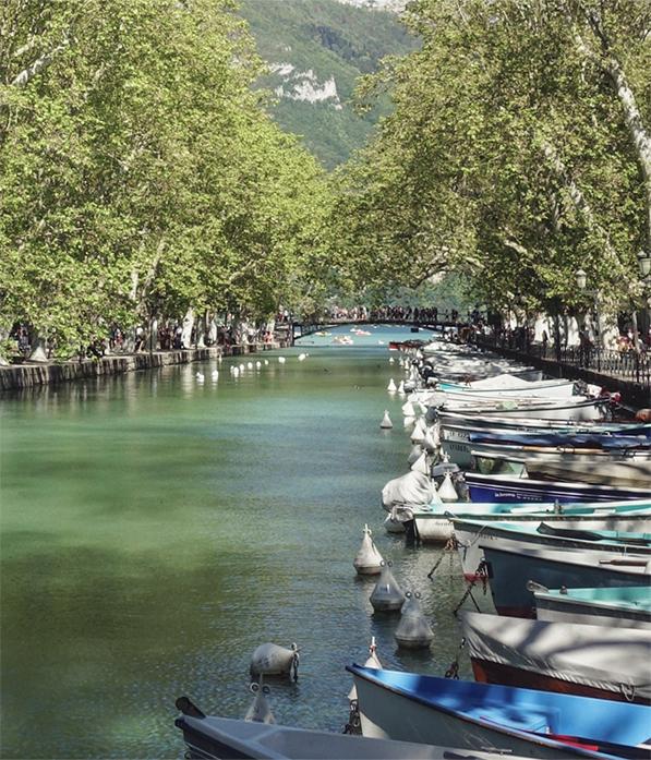 Pont des Amours à Annecy